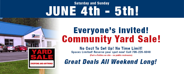 2016 community yard sale featured image