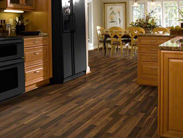 Shaw Laminate Flooring - Brookdale Walnut Style
