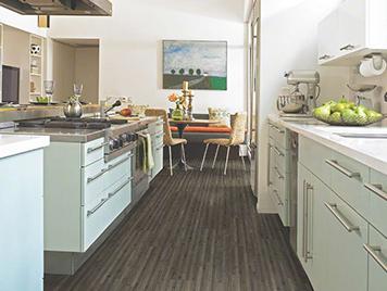 Shaw Laminate Flooring - Smoked Bamboo style