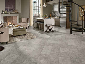 armstrong alterna luxury vinyl tile flooring whispered essence hint grey review