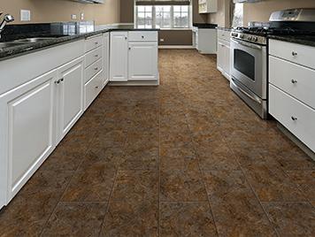 Congoleum DuraCeramic Luxury Vinyl Tile & Plank Flooring - Tidal Basin Beige Wash