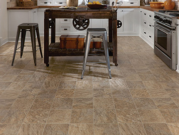 Mannington Luxury Vinyl Flooring - Cambridge Silver / Limestone style