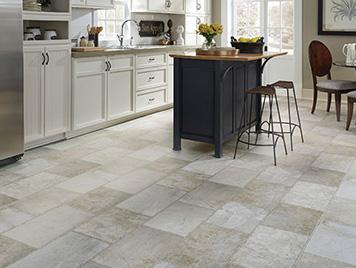 Mannington Luxury Vinyl Flooring - Stone Platinum Serena / Sand Dune style