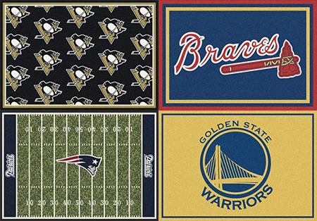 Sports Team rugs by milliken