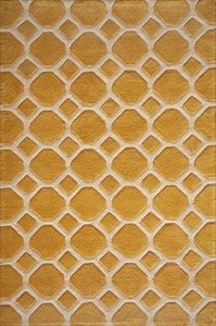 Momeni Bliss Collection Gold Pattern