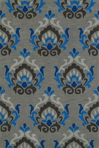 Dalyn Rug Compay aloft silver area rug