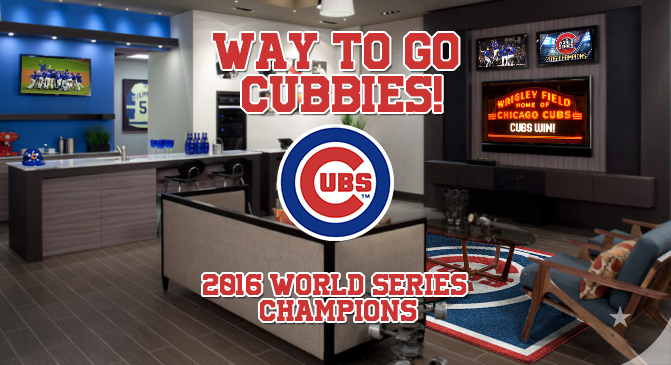 Chicago Cubs World Series Champions - way to go Cubbies