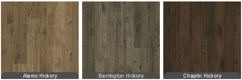 Shaw Riverview Hickory Laminate Barrington Alamo Chaplin