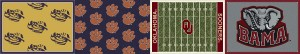 team rugs - ncaa football area rug review save 30-60%