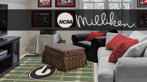 NCAA College Football Team Rugs by Milliken Review
