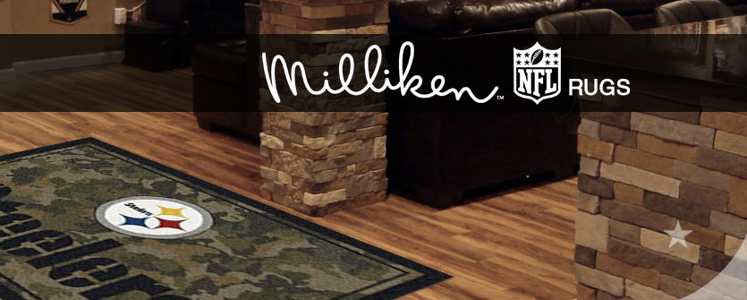 Milliken NFL - Pittsburgh Steelers NFL area rugs review
