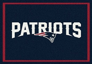 New England Patriots Team Spirit Rug New England Patriots MKRUG-533321-956
